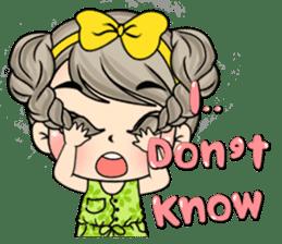 Unna mini girl (Eng) sticker #13456348