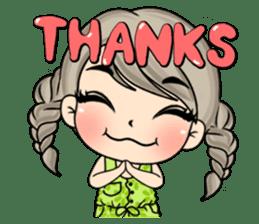 Unna mini girl (Eng) sticker #13456351