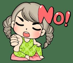 Unna mini girl (Eng) sticker #13456352
