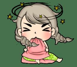 Unna mini girl (Eng) sticker #13456355