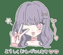 Minette Girls Stamp sticker #13457044