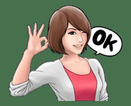 Cute Girl Gwen (Animated) sticker #13457759