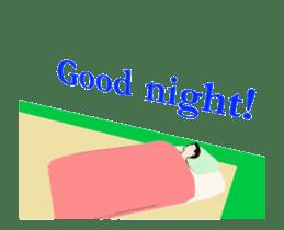 Gymnastics animation sticker #13458952