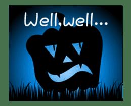 JACK-O-LANTERN (English) sticker #13459254