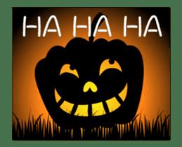 JACK-O-LANTERN (English) sticker #13459256