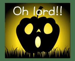 JACK-O-LANTERN (English) sticker #13459258