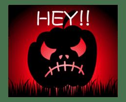 JACK-O-LANTERN (English) sticker #13459260