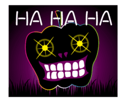 JACK-O-LANTERN (English) sticker #13459269