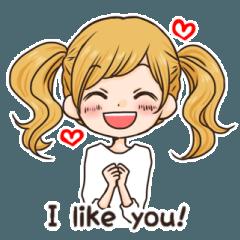 Girl's sticker 5