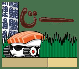 Sushi Tank-1 sticker #13461138