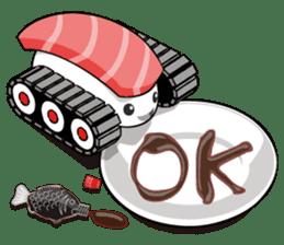 Sushi Tank-1 sticker #13461140