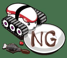 Sushi Tank-1 sticker #13461141