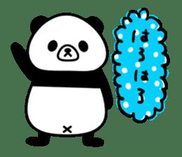 PANDA NO KONBU sticker #13463175