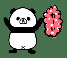 PANDA NO KONBU sticker #13463176