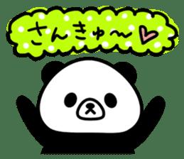 PANDA NO KONBU sticker #13463178