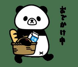 PANDA NO KONBU sticker #13463187