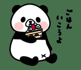 PANDA NO KONBU sticker #13463188
