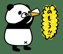 PANDA NO KONBU sticker #13463189