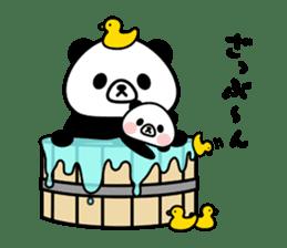PANDA NO KONBU sticker #13463195