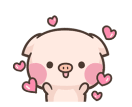 Cute pig - Move Move Move! sticker #13465520