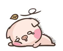 Cute pig - Move Move Move! sticker #13465522