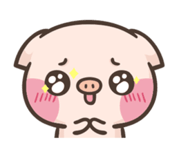 Cute pig - Move Move Move! sticker #13465533