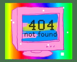 Vaporwave trendy aesthetic sticker #13470392