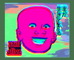 Vaporwave trendy aesthetic sticker #13470397