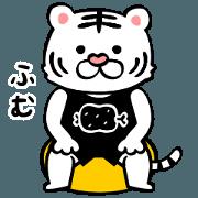 สติ๊กเกอร์ไลน์ Tiger's Workout - Animated Stickers -