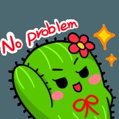 Fat cute cactus