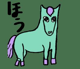Hin-non Animals sticker #13483239