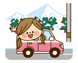 Kawashufu: Animated3[winter] sticker #13497937