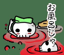 Cute skeleton sticker #13501013