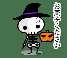 Cute skeleton sticker #13501034