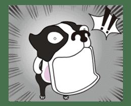 Animated Boston Terrier sticker #13501350