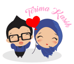 STORY TAMI & TRIS (MARRIED COUPLE) sticker #13507066