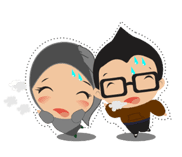 STORY TAMI & TRIS (MARRIED COUPLE) sticker #13507088
