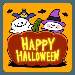 "Rabbit & Smile + Chick ""Halloween"""
