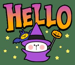 """Rabbit & Smile + Chick """"Halloween"""" sticker #13514206"""