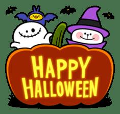 """Rabbit & Smile + Chick """"Halloween"""" sticker #13514208"""