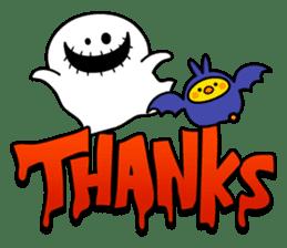 """Rabbit & Smile + Chick """"Halloween"""" sticker #13514211"""
