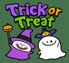 """Rabbit & Smile + Chick """"Halloween"""" sticker #13514214"""