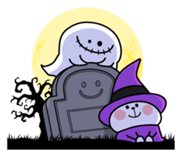 """Rabbit & Smile + Chick """"Halloween"""" sticker #13514215"""