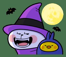 """Rabbit & Smile + Chick """"Halloween"""" sticker #13514216"""