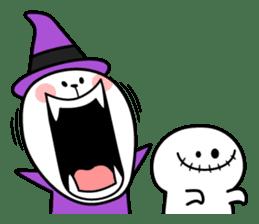 """Rabbit & Smile + Chick """"Halloween"""" sticker #13514218"""