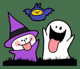 """Rabbit & Smile + Chick """"Halloween"""" sticker #13514221"""