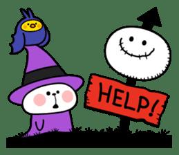 """Rabbit & Smile + Chick """"Halloween"""" sticker #13514225"""
