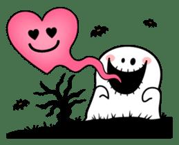 """Rabbit & Smile + Chick """"Halloween"""" sticker #13514237"""
