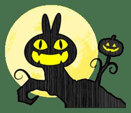 """Rabbit & Smile + Chick """"Halloween"""" sticker #13514238"""