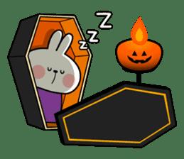 """Rabbit & Smile + Chick """"Halloween"""" sticker #13514242"""